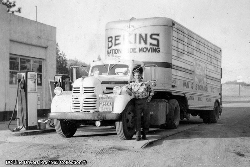 Retro Bekins Photo from 1950