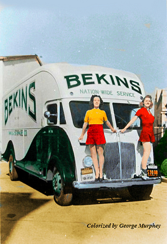 Retro Bekins Moving Photo
