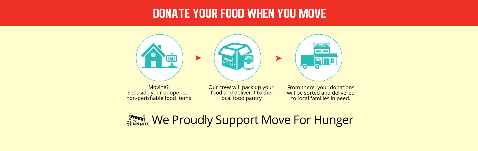 Donate Food When You Move