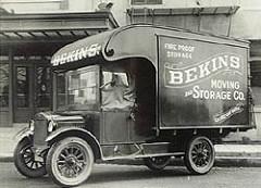 Retro - Classic Bekins Storage Van