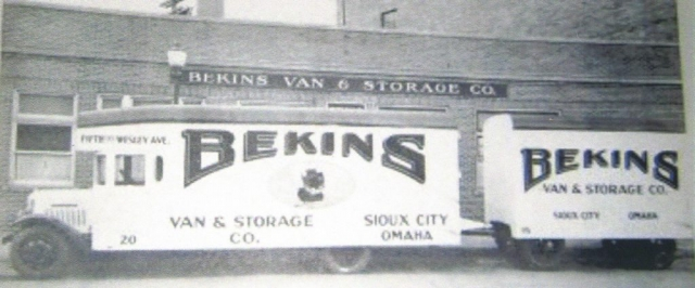 Retro - Bekins Sioux City, Omaha