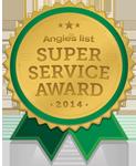 Angies Service Award 2014