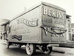 Retro- Classic Bekins Truck