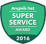 Super Service Award - Angie's List 2016