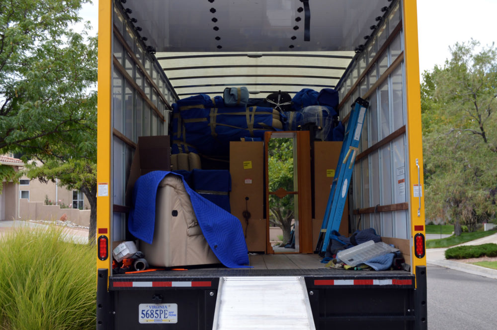 Moving and Packing Example