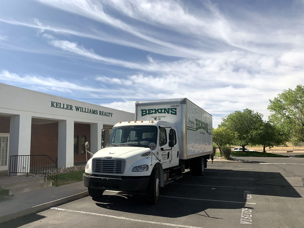 Kw Truck for Food Drive May 2020
