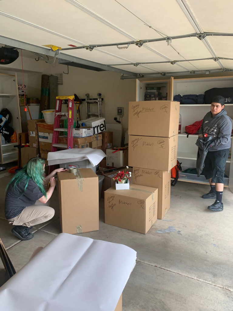 Packing the Garage