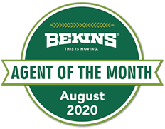 Bekins Agent of the Month!