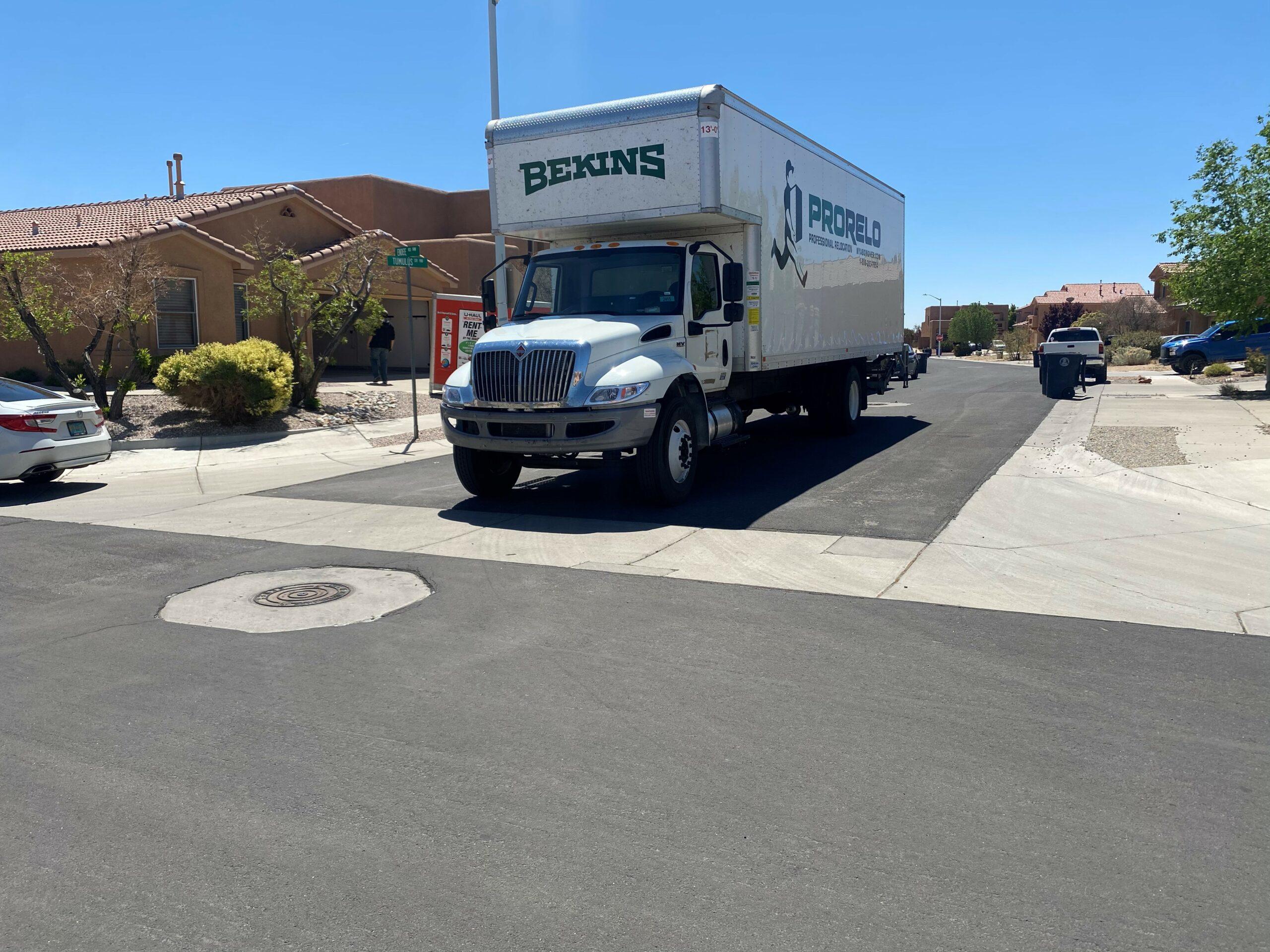 ProRelo truck en route to deliver