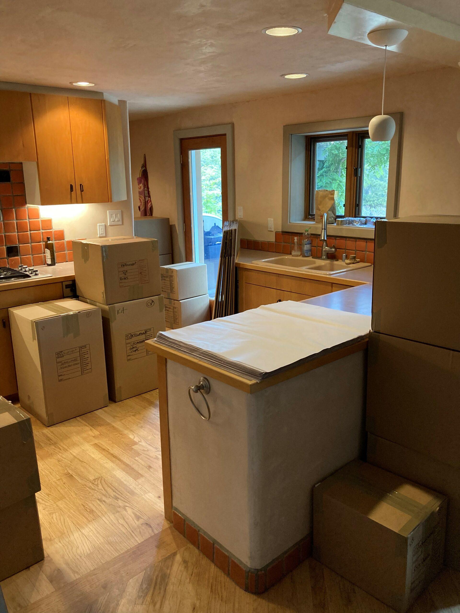 Beautiful Home and Beautiful Packing Job