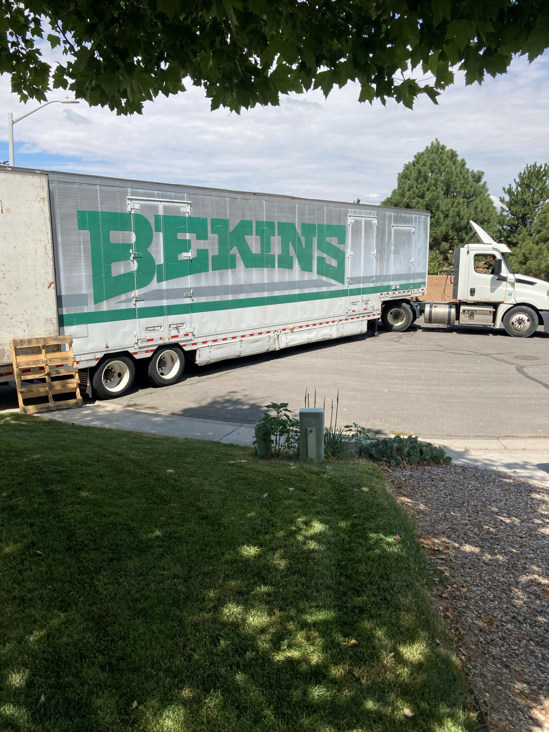 HUGE Bekins Truck